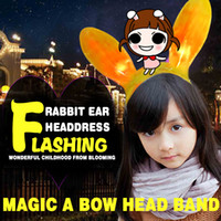 > 3 years old band holidays - Sequins cloth feathers rabbit ears hair hoop rabbit girl headband animal ears hair band dance festival holiday hair band