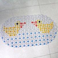 bathing floor rug - Bathroom Pad PVC Bath Mat Shower Tub Bathing Cobblestone Floor Rug Pebble Bubble Non Slip Fashionable Practical