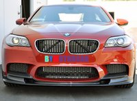 Wholesale 3D Style Carbon Fiber Front Lip Spoiler series F10 M5 Only Fit For BMW