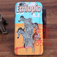 apple iphone trade - Vodex cases foreign trade hot animal zebra apple water paste mobile phone shell embossed D feel iPhone7 p p