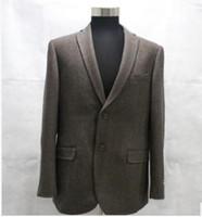 Wholesale 2017 fanshion Coat the male leisure tweed suit More fashion for autumn winter tweed suit jacket