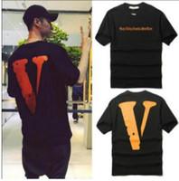 big black uniform - European and American Street Tide Brand Tracksuit Vlone Off White Men Women Hip hop Big Vlone Letters Baseball Uniform