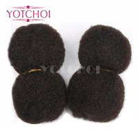 Wholesale Yotchoi Tight Afro Kinky Curly Bulk hair for Dreadlocks Twist Braids g Cosplay for Havana Mambo Twist Braid Hair