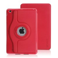 Wholesale High quality ultrathin tablet case with rotate degrees shell Leather for iPad mini
