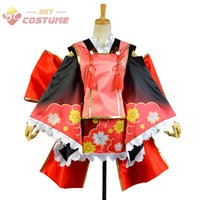 anime dress up girls - LoveLive Love Live Wake Up Girls Nico Yazawa Yukata Kimono Dress Full Set Anime Halloween Cosplay Costumes For Women Custom