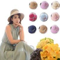 Venta al por mayor - Sombrero de la playa del sombrero de la playa del sombrero de la sombra del sombrero nuevos Sombreros anchos CA101