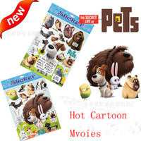 Wholesale 2016 Hot Sale Cartoon Movies DVD Movies The Secret Life Of Pets Stickers