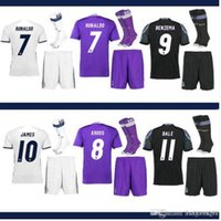 Wholesale Customized Thai Quality Real Soccer Children Adult Clothes Rugby Wear football jerseys Training Apparel Socks
