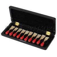 bassoon reeds - Beautiful Black Bassoon Reed Box for Reed Hold Handmade Wooden Reed Box