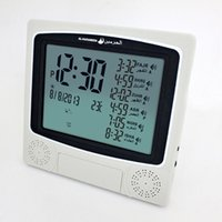 Wholesale Muslim price for Islamic azan clock athan prayer clock Automatic Azan wall prayer clock Fajr alarm cities