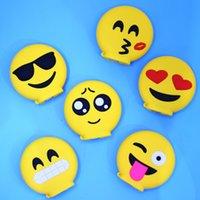 banks smile - Novelty Design Cell Phone Power Banks Yellow Cartoon Emoji Smile mah Power Banks for Universal Phones