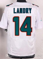 Wholesale Jarvis Landry Jersey No Miami Team embroidered Mens American Football Jerseys Green White Colors