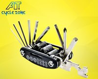Wholesale Bicycle Tools Multifunction Combine Widgets In One Bicycles Repair Tool Inner Hexagon Combination Instrument Holder at