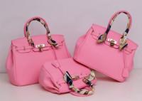 colorful handbags - wholesales New summer big brand style Exquisite Platinum lock tote bag high grade fashion colorful handbag lady portable shoulder bags