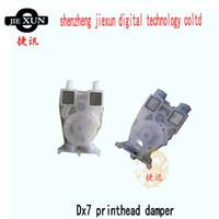 Pieza de recambio libre del amortiguador de la cabeza de impresión dx7 del envío dx7 para la impresora al aire libre del inkjet del litu del lecai del color 9100 980 del xenón para la venta