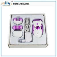 automatic callus remover - 2016 new automatic in lady epilator set with callus remover professional lady hair remover