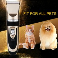Wholesale BaoRun Brand Universal Professional Strong Power Plug In Electric Clippers Shaver For Golden Retriever Teddy Cat Rabbit With Guide Combs