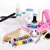 16*10*12cm art starters - UV GEL STARTER KIT Manicure Set FOR NAIL ART SET NA826