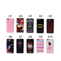 applied covers - 3D Relief Stereoscopic Case For Iphone plus Hot Sale Mobile Phone Back Cover Applies For inch inch