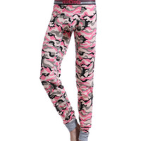 Cheap New arrival brand COCKCON men underwear Camouflage cotton long johns U pouch Tight pajamas Warm under pant legging