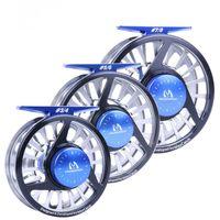 Wholesale Fly Fishing Reel WT Fly Reel Machined Aluminium Micro Adjusting Drag Fly Fishing Reel