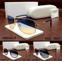 aviator color - 2017 hot uv400 Crocodile Brand Designer men woman Tom Round Dita ver sunglasses Ford with origianal box Aviator MI carrer Versacey miu