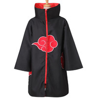 best naruto costumes - Anime Naruto Akatsuki Itachi Uchiha Deluxe Men s Cosplay Costume Cloak Cape Gift Best Gift cosplay Naruto