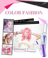 Wholesale Hair Colors disposable hair dyes easily coloring colors Temporary