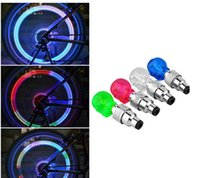 best bike accessories - Best price Led Bike Light skull Bicycle Lights Install at Bike or Bicycle Tire Valves Bike Accessories Led Bicycle