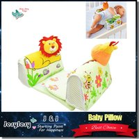 Wholesale Sozzy Cartoon Baby Pillow to Sleep Anti roll Sleep Positioner Infant Safe Sleep Fixed Newborn Toddler Adjustable Support System