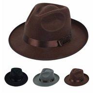 best choice protection - Women ladies Cotton Blend Jazz Felt Fedora Cap Wide Brim Bowler Trilby Panama Hat Your Best Choice