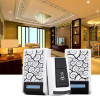 Wholesale 2 Receivers Wireless Doorbell Chimes Songs Waterproof Smart Music DC Doorbell m Range for home