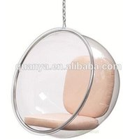 Wholesale cheap price swing hanging egg chair acrylic leisure bubble chair