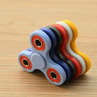 Wholesale Creative Funny Tri Spinner Fidget Toy Plastic EDC Hand Spinner For Autism and ADHD Rotation Time Long Anti Stress Toys