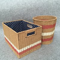 baskets made china - hand made seaweed weave Storage Box Kung Fu Tea Accessories Jewelry Box groceries baskets all natural no paint unbroken