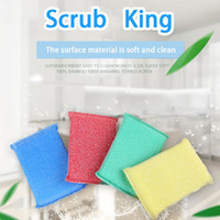 Foam beautiful cleaning - Factory direct sales to the oil capacity and practical convenience of the beautiful kitchen clean sponge rub