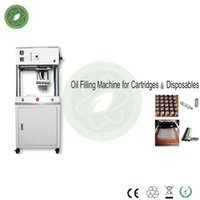 Wholesale 2016 Fully Automatic filling machines for CBD cartridges CO2 extract oil cartridges heating oil system make it better for filling experience