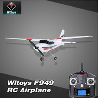 Wholesale Christmas gift New Arrival Wltoys F949 Plane Sky King G CH RC Airplane Fixed Wing Plane For beginners and intermediate flight players Co