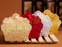 Wholesale Laser Cut Wedding Favor Boxes Candy Box Casamento Party Birthday Wedding Hollow Carriage Favors Gifts