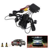 auto cpu - Dual Core CPU Car Video Parking Sensor Reverse Backup Radar Assistance Auto parking Monitor Digital Display and Step up Alarm CAL_203
