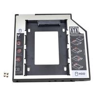 Precio de Una caja portadiscos disco-Universal SATA a SATA 2 HDD Caddy 9.5mm para 2.5