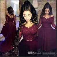 arrival knitted pieces - 2017 Sexy Cheap Two Pieces Prom Dress Burgundy Wine Red Pieces Prom Dresses Hi lo Lace Bodice New Arrival Party Dress Party Gown