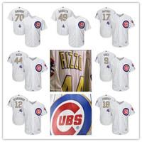 Cheap Baseball Javier Baez Gold Jersey Best Men Short Kris Bryant Gold Jersey