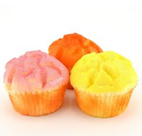 artificial bread - 1PC Artificial Minature Fake Food Bread Scrapbooking Decoration Cup Cake Bread Squishy Hand Pillow Loaf Bread