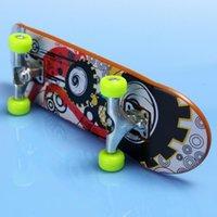 Wholesale Fingerboard Truck Mini Finger Skateboard Toy Boy Kids Children Gift