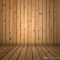Wholesale 5x7ft Vinyl Digital Original Color Wood Floor Wall Photography Studio Backdrop Background