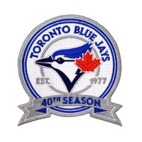 Wholesale Toronto Blue Jays th Anniversary Commemorative Patch th Season