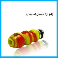 Wholesale High grade glass cigarette holder Drip tips health glass material well design and packaging exquisite