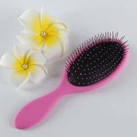 Wholesale Magic hair Brush Combs Magic Detangling Handle Tangle Shower Hair Brush Comb message combs Salon Styling Tamer Tool