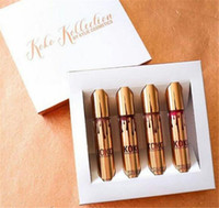 Wholesale Kylie Jenner KOKO Kollection lipstick Set Koko Kylie Cosmetics kollaboration Gold Metal Matte lipstick KHLOE Limited Edition